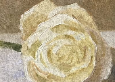 White Yellowy Rose