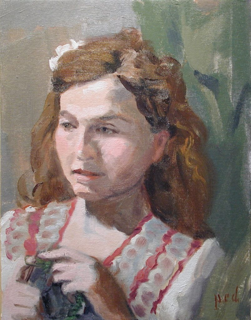 Portrait of Storey W copyright 2011 Peter Dickison